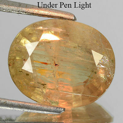 Untreated 4.100Cts Natural Color Change Turkey Diaspore Oval Cut Loose Gemstone