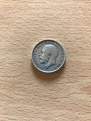 1918 George V - Silver One Shilling Coin