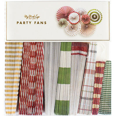 Holiday Party Fans 8/Pkg  HYP107