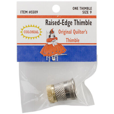 Raised Edge Thimble Size 9 SST-9