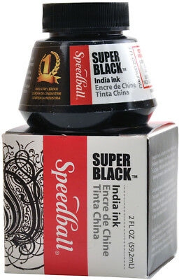 Speedball Super Black India Ink SB3338