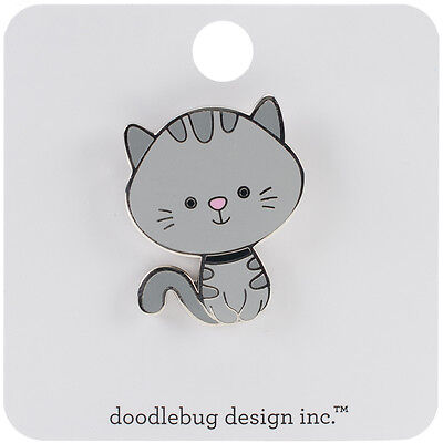 Doodlebug Collectible Pin Kitty KSPIN-5307