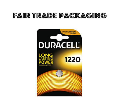 1 x Duracell CR1220 3v Lithium Battery CR 1220 DL1220