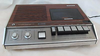 Sony Tc146A Stereo Cassette Recorder