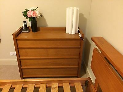 2 Piece Bedside Table  & Chest of Drawers