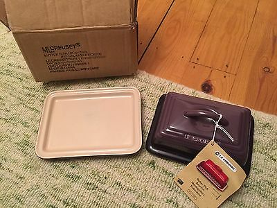 New Le Creuset Butter Dish In Purple