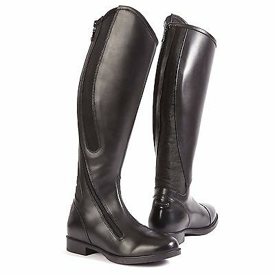 Toggi Cartwright Long Leather Riding Boot with Side Zip