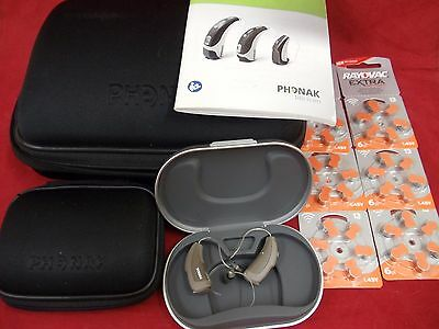 Phonak Naida CRT IX 9 Hearing Aids Water Resistant Wireless Beige/Taupe Roger 15