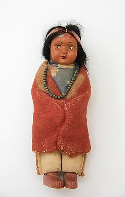 Vintage Native American Indian Skookum Bully Good Doll