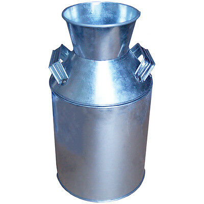 "Galvanized Milk Can 10""X5.5""  ST0059"