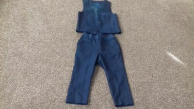 Baby Boys Next Navy Suit 12-18 months