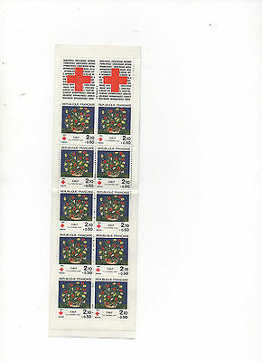 "Timbres  ""Croix  rouge "" 1984"