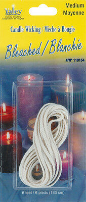 Candle Wicking Bleached Medium 6' 110000B-154