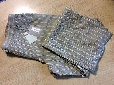 "Daily Sports Ladies Trousers Beige Stripe Size 16 (29"" Length)"