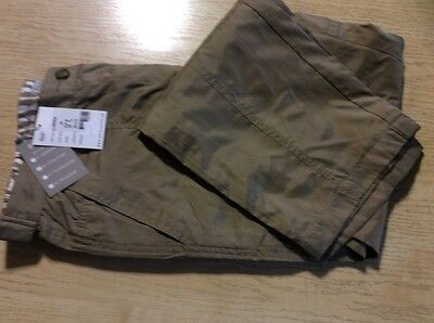 "Daily Sports Ladies Trousers Size 12 (29"" Leg) Beige"