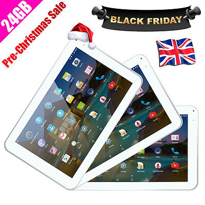 """9"""" INCH Google Android 4.4.2 Allwinner A33 Tablet PC Quad Core WiFi DUAL CAMERA"""
