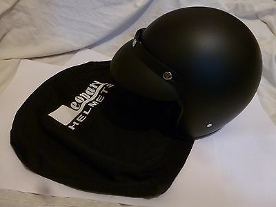 Leopard Motorcycle Helmet and case Black Large size