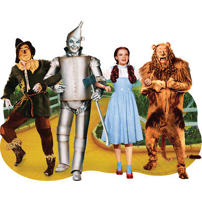 "Jigsaw Shaped Puzzle 478 Pieces 33""X27"" The Wizard Of Oz   Friends PUZ0052E"