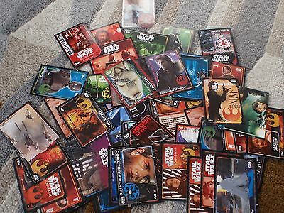 Bundle of 60 Star Wars Rogue One Trading Cards
