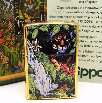 Personalised Mysteries Of The Forest and Tin Zippo Lighter  Engraved Free