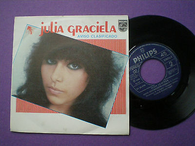 JULIA GRACIELA Aviso Clasificado SPAIN 45 1980
