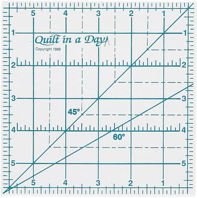 """Quilt In A Day Ruler 6""""X6"""" 2001"""