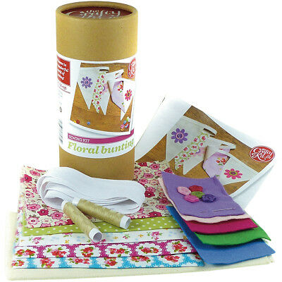 The Crafty Kit Co. Sewing Kit Floral Bunting SK-036