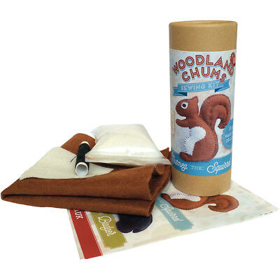 The Crafty Kit Co. Mini Sewing Kit Nutmeg The Squirrel MK-050