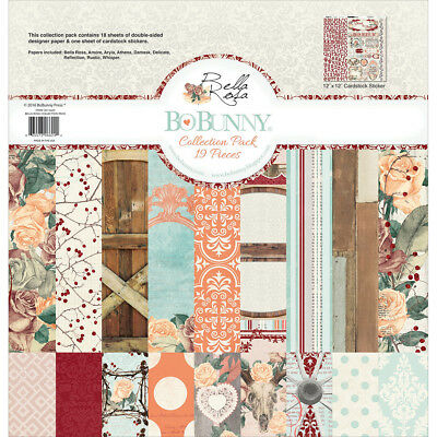 """Bobunny Collection Pack 12""""X12"""" Bella Rosa 20116624"""