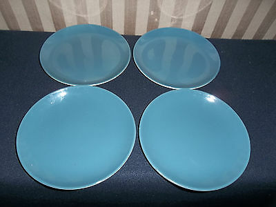 PooolePottery Blue Moon Side Plates x 4