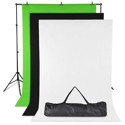 BDS01 2x3 Meter Background Stand Support Kit Backgrounds Backdrop All in one
