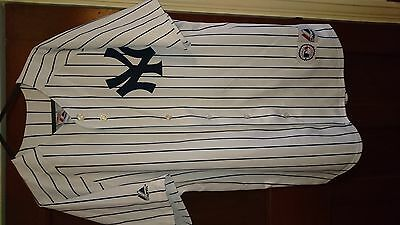 NY Yankees Baseball Jersey Majestic #13  Rodriguez. US Medium