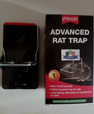 Rentokil Advanced Rat Trap (Single Pack) - New And Sealed