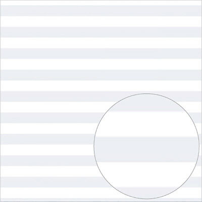"Bazzill Printed Acetate Stripes Sheets 12""X12"" White ACESTR12-523"