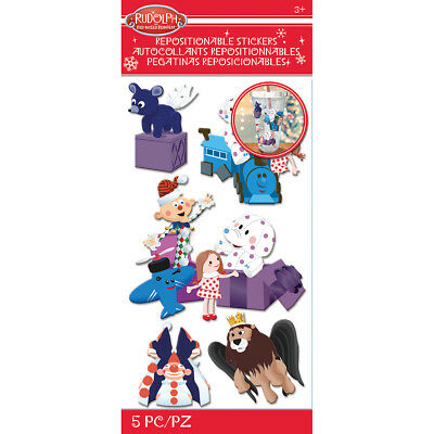 Rudolph The Red Nosed Reindeer Stickers Misfit Toys E5306014