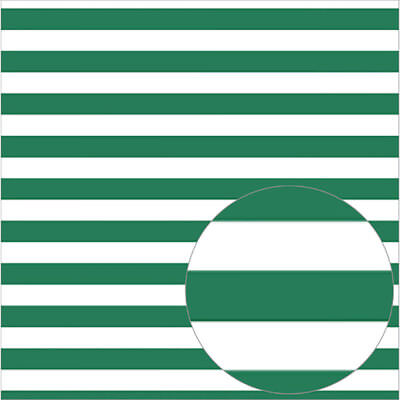 "Bazzill Printed Acetate Stripes Sheets 12""X12"" Bazzill Green ACESTR12-527"