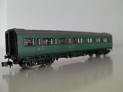 Dapol Maunsell 1st class 'Low window' No.7665 in BR(SR) green, N gauge