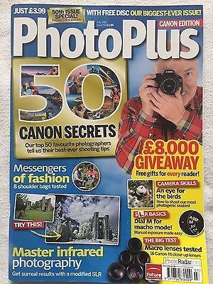 Photo Plus Canon Edition - July 2011 Issue 50