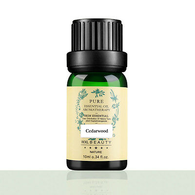 Pure Cedarwood Essential Oils 10ml Therapeutic Grade Aromatherapy PCLady