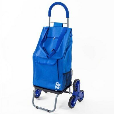 Stair Climber 2-in-1 Trolley Dolly - Blue