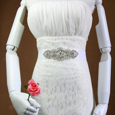 Wedding Dress belt Crystal Belt sash with Beaded Rhinestones Belt Accessory