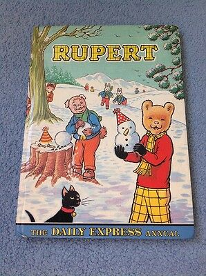 Original Rupert The Bear Annual 1974 Daily Express Unclipped