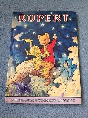 Original Rupert The Bear Annual Daily Express 1979 Unclipped