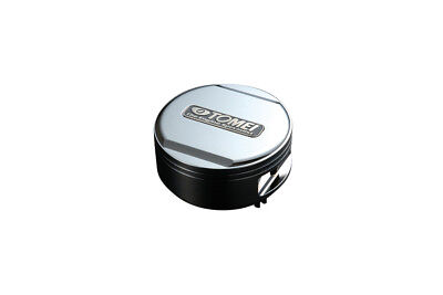 Tomei Powered Oil Filler Cap - Mitsubishi - Push & Twist Type - Silver