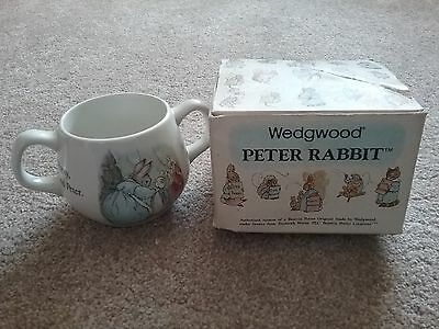 Wedgewood pottery Peter Rabbit rare with box vintage