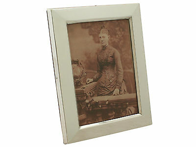 Antique Victorian Sterling Silver Picture Frame