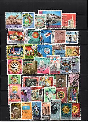 Middle East - KUWAIT  - selection of used DIFFERENT stamps LOT (kuw - 444)