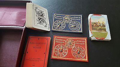 Old Bezique Card Game 1933