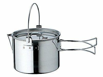 Snow Peak stainless  kettle No1 CS-068 0.9L from japan
