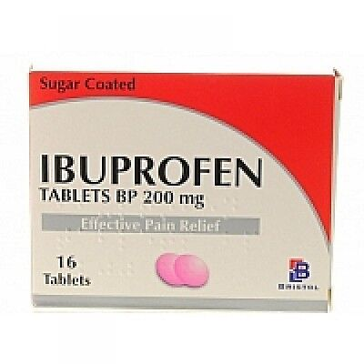 96 Ibuprofen 200Mg Tablets(6X16) -Pain Relief-Migraine-Rheumatic & Muscular Pain